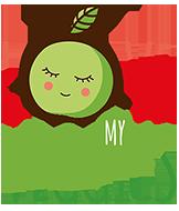 Biologische snacks van groente en fruit voor kinderen