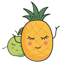 Appel en ananas