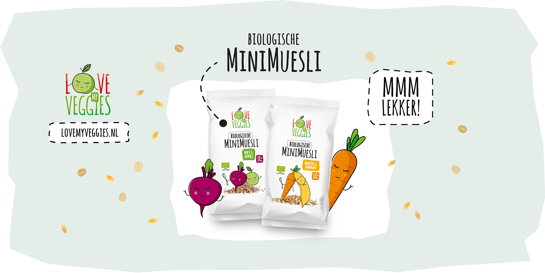 Love My Veggies Biologische Mini Muesli
